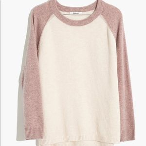 Madewell color-block Allister Sweater